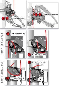 How to Install and Adjust Your Front Derailleur - Singletracks Mountain Bike News Road Bikes, Cycling Bikes, Cycling Equipment, Mountain Bicycle, Mountain Biking, Mountian Bike, Range Velo, Bike News, Bike Brands