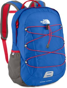 The North Face Happy Camper pack offers kids a scaled-down version of the adult-size Borealis. #REIGifts