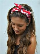 how to Wear a Bandana with Your Hair - Bing Images