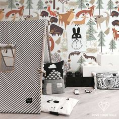 New collection - NIOSKA X LOVE - Forest Animals - Love Your Wall #loveyourwall #wallpaper #newcollection #wallpaperondemand
