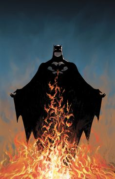 The cover for BATMAN #11 by Greg Capullo #comic #art