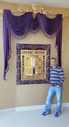 23 Ideas Bedroom Design Elegant Window Treatments in 2019 Elegant Curtains, Beautiful Curtains, Modern Curtains, Swag Curtains, Home Curtains, Curtains 2018, Burlap Curtains, Window Coverings, Window Treatments