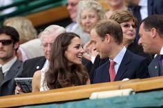 Kate Middleton - Prince William and Kate Middleton at Wimbledon