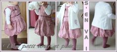 Robe boule enfant, Patron couture gratuit