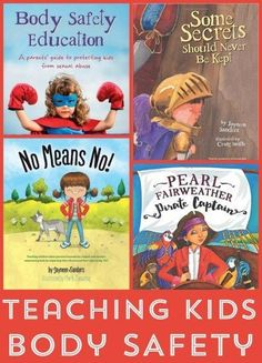 Books to help keep kids safe and prevent sexual abuse
