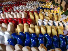 #Traditional wooden shoes known as #clogs are possibly the most iconic image of the #Netherlands. And that's why they make great souvenirs. They've been part of the area's culture for generations and have been used for everything from labor to dancing. But for you they'll serve as a reminder of your #European getaway.