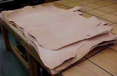 Veg tan shoulders for tooling or carving or wet forming for sale Sewing Leather, Leather Pattern, Leather Craft, Leather Hides, Leather Suppliers, Leather Working Tools, Diy Camping, Leather Projects, Leather Journal