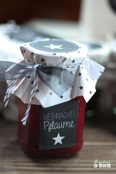 weihnachts-pflaume I Pflaumenkonfitüre mit Walnüssen und Zimt