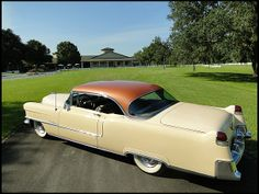 Auction Lot Kissimmee, FL Believed to be miles. Light Tan pattern and leather interior. Chevy, Chevrolet, 1950s Car, Cadillac Series 62, Cadillac Ct6, Zoom Zoom, Lowrider, Hot Cars, Uber