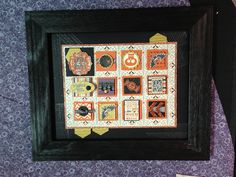 Stampin up. Halloween hello witches brew dsp Bj peters.  Www. Stampinbj.com. Love this 3d Halloween frame