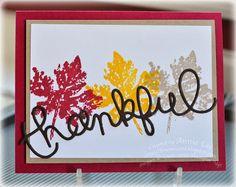 Love to Make Cards: Thankful November