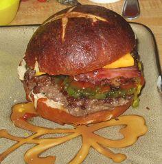 Can't Get Enough of Pretzel Burgers
