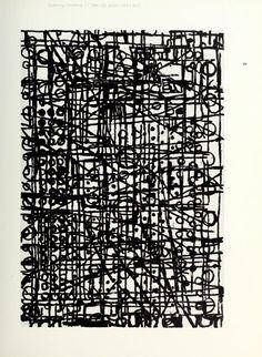 Terry Winters Drawings