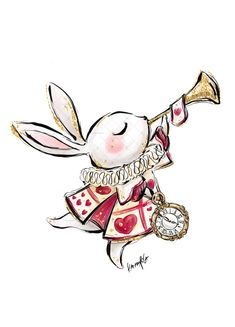 "Cinco De Mayo Discover Karamfilas White Rabbit from ""A Mad Tea Party"" (""Alice in Wondeland"") Alice In Wonderland Drawings, Alice In Wonderland Tea Party, Alice In Wonderland Clipart, White Rabbit Alice In Wonderland, Arte Disney, Disney Art, Disney Drawings, Cute Drawings, Cute Art"