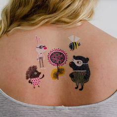 hellen dardik's zoo crew tattoos