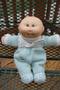 This was my favorite Cabbage Patch. Still have him!