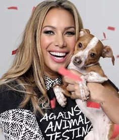 LOVE this-- Singer Leona Lewis Launches Cruelty-Free Beauty Collection #pets #love #dog