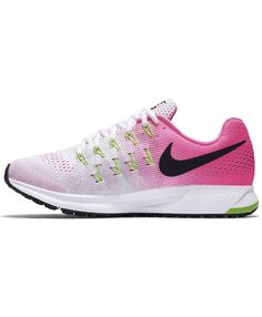 9083bc13dc294 Nike Air Zoom Pegasus 33 Femme Rose Blanc Noir