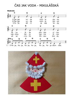 ČAS JAK VODA - MIKULÁŠSKÁ Pli, Kids Songs, Winter Christmas, Advent Calendar, Holiday Decor, Inspiration, Xmas, Biblical Inspiration, Children Songs