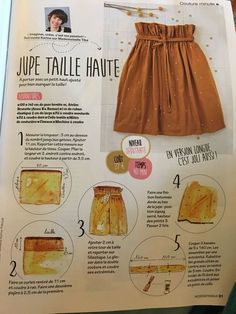 Find tips and tricks, amazing ideas for Haute couture. Discover and try out new things about Haute couture site Coin Couture, Couture Sewing, Diy Sewing Projects, Sewing Hacks, Easy Projects, Diy Clothing, Sewing Clothes, Fashion Sewing, Diy Fashion