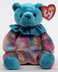 December (birthday) - bear - Ty Beanie Babies
