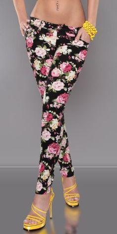 30b720609911d3 Newplay Designer White or Black Floral Rose Print Pink Green Yellow and  Orange Womens Ladies Designer