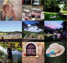 Schloss Möhren | Vakantie in een kasteel: My week on instagram#46 Frühsommer! Ik vind het een fantastisch woord. Proeven aan de heerlijk zomer die nog voor ons ligt en dat in juni. GE-NIE-TEN! Onze meiden hebben nu vakantie en we nemen het ervan. Fietsend naar Treuchtlingen voor een ijsje, pootje baden in de Möhrenbach of naar het blote voetenpad met de Kneipanlage (voetjeswater). Maar ook zwemmen in een van vele binnenmeertje die het Naturpark Altmühltal rijk is.