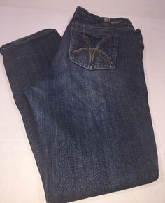 Kut From the Kloth Style kp49ma6 cut 75144 Embroidered Womens' Size 16 Jeans   | eBay