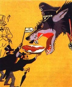 "Soviet WWII propaganda, ""The giving of Czechoslovakia to Hitler. Munich Agreement, Camille Desmoulins, Ww2 Propaganda Posters, Modern World History, Crime, Canadian History, Nose Art, A Cartoon, Political Cartoons"