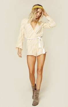 Faithfull The Brand New Bohemian Clothes Vision Playsuit