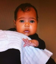 Kim Kardashian Baby Picture: Released! Adorable! oh my gosh! She is soooo adorable!<3