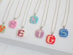 Girl initial necklace Granddaughter birthday Sisters necklaces Niece gift from aunt Girl Birthday gift for 5678910 years old girl Girls Jewelry, Girls Necklaces, Cute Jewelry, Christmas Gifts For Girls, Birthday Gifts For Girls, Kids Christmas, Girl Birthday, Sister Necklace, Initial Necklace