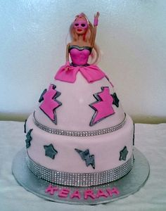 Barbie Cake!  - THE SWEET ESCAPE