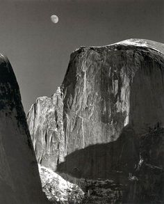 Makes you want to visit the National Parks. Ansel Adams Yosemite still captures it like no other.