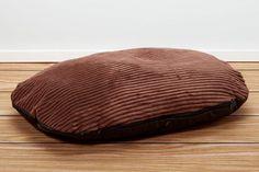 Luxury Corduroy Pet Beds - Cocoa