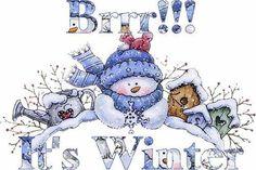 brrr it is winter time