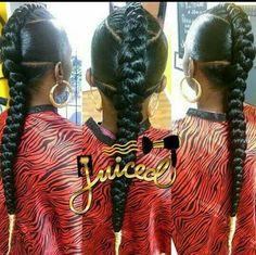 3 part single braid