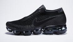 Black Nike Air VaporMax Comme des Garcons Profile