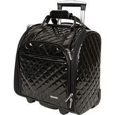 Gail's Favorite mini rolly Travelon Wheeled Underseat Carry-On