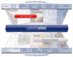 #ConstruSteel is één technisch & financieel totaalsysteem voor #staalconstructiebedrijven. Het is een totaalsysteem waarbij de technische en financiële integratie in het gehele #bedrijfsbeheersysteem volledig is doorgevoerd. Door de combinatie van BIM / CAD-systemen, CAD/CAM-koppelingen met machines en financiële #projectadministratie, uren en #bedrijfsadministratie zijn alle #bedrijfsprocessen geautomatiseerd. Inschrijving MKB Innovatie Top 100. www.mkbinnovatietop100.nl