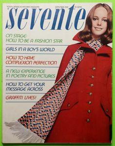 SEVENTEEN MAGAZINE  September 1969 Tie-Dye LEVI'S Fashion SOUL FOOD Clothes Boy | eBay