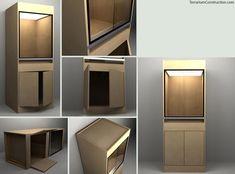 3D visualization for terrarium construction