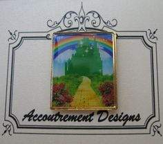 Accoutrement Designs Emerald Palace City Needle Minder Magnet Mag Friends #AccoutrementDesigns