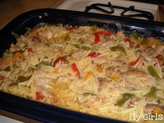 Fly Girls: Dilled Chicken Orzo Casserole