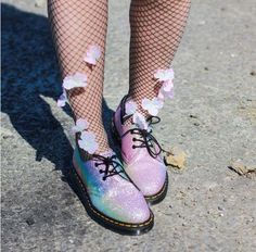 The Rainbow Glitter shoe, shared by crazykitch.