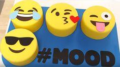 The Social - Emoji cake