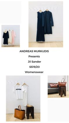 The atmosphere in ANDREAS MURKUDIS captures a freedom and tranquility that sets it apart from the usual, fast-paced retail world. Jil Sander, Digital