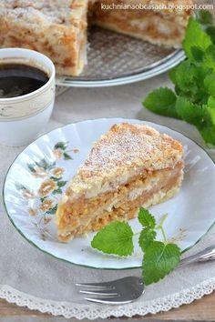 kuchnia na obcasach: Szarlotka sypana