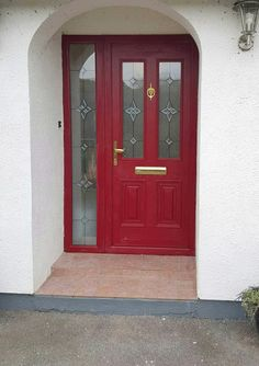 palladio doors by Murphy Larkin Composite Door, Main Door, Closed Doors, Front Doors, Entrance, Paintings, Sculpture, Eyes, Architecture