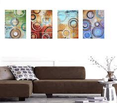 """96"""" x32"""" painting abstract painting super large painting from jolina anthony fast and free express shipping"""